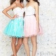 Madison James 15-125 Lace Applique Homecoming Short Cocktail Dress