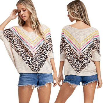 Willow Leopard Top by Phil Love
