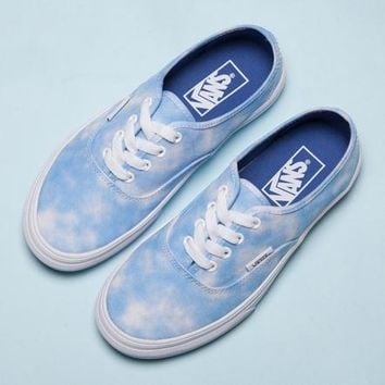 Trendsetter Vans Canvas Old Skool Sky White Clouds Sneakers Sport Shoes