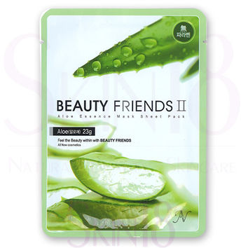 Beauty Friends II Essence Mask Sheet Pack (Aloe)