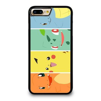 POKEMON PIKACHU AND FRIEND iPhone 4/4S 5/5S/SE 5C 6/6S 7 8 Plus X Case