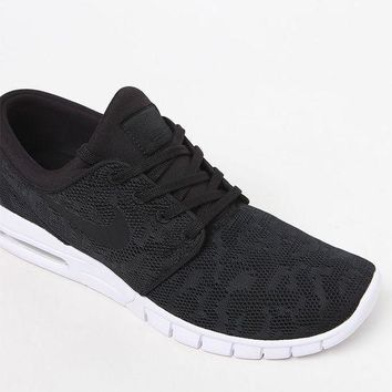ONETOW Nike SB Stefan Janoski Max Black and White Shoes at PacSun.com