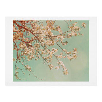 Happee Monkee Plum Blossoms Art Print