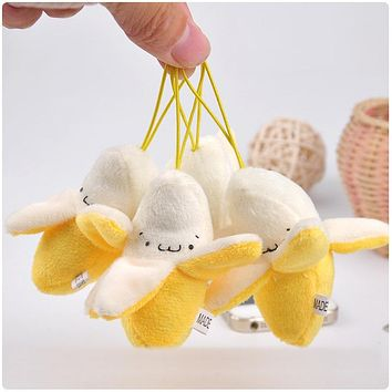 Quality children's babies like small gifts, toys, plush bananas, dolls toys plush public gifts wedding bouquets decorative dolls