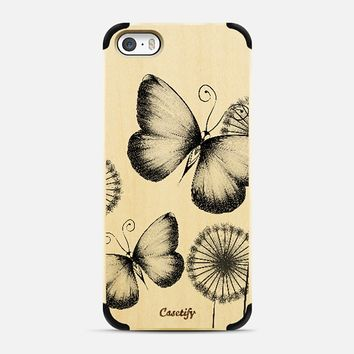Butterflies iPhone 5s case by LouJah   Casetify