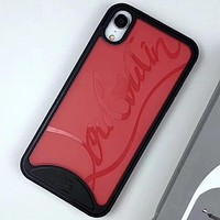 Christian Louboutin Phone Cover Case For iphone 6 6s 6plus 6s-plus 7 7plus 8 8plus iPhone X XS XS max XR