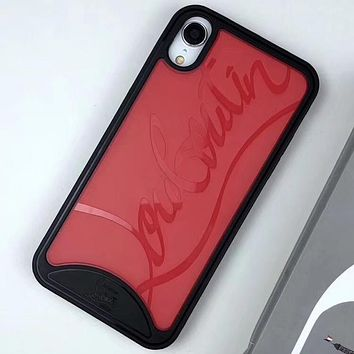 Perfect Christian Louboutin Phone Cover Case For iphone 6 6s 6plus 6s-plus 7 7plus 8 8plus iPhone X XS XS max XR