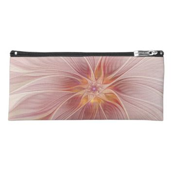 Soft Pink Floral Dream Abstract Modern Flower Pencil Case