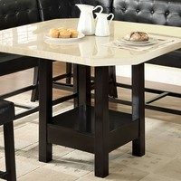 Wrigly Contemporary Counter Height Table