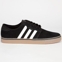 Adidas Seeley Mens Shoes Black/Running White/Gum  In Sizes