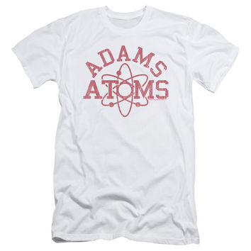 Revenge of the Nerds Adams Atoms White Fine Jersey T-Shirt