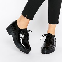 Monki Chunky Sole Lace Up Shoes