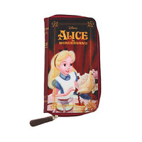 Disney Alice In Wonderland Book Zip Wallet | Hot Topic