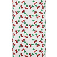 Cherries Everywhere iPhone 6 Plastic Case by TooLoud