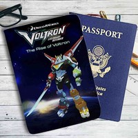 Voltron Legendary Defender Leather Passport Wallet Case Cover