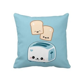 Cute Toast Pillows