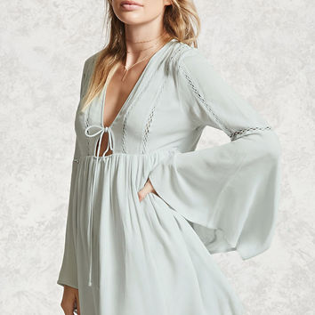Contemporary Bell Sleeve Dress