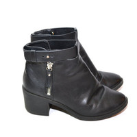 Black Ankel Boots Womens Black Ankel Boots Women's Harness Boots Motorcycle Boots Size 7
