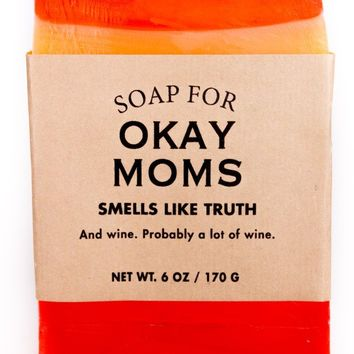 Okay Moms Sippy Cup Wine Scented Soap - Smells Like Truth