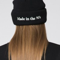 MADE IN THE 90'S EMBROIDERY BEANIE