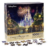 disney parks thomas kinkade main street usa WDW puzzle 1000 pcs new with box
