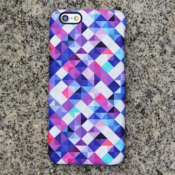 Geometric Glimpse iPhone XR Case | iPhone XS Max plus Case | iPhone 5 Case | Galaxy Case 3D 042
