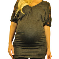 Maternity Tunics - Lace Against Time