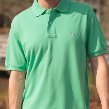 The Heathered Stonewall Polo from Southern Marsh - Collegiate - Tulane University