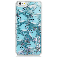 Liquid Glitter Narwhal for iPhone 6 Models