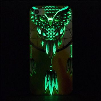 Glow In The Dark Owl Dream Catcher Case
