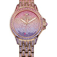 Juicy Couture Women's Rose Gold-Tone Bracelet Watch 36mm 1901167 - Watches - Jewelry & Watches - Macy's