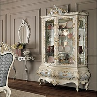 Lacquered display cabinet 11102 Villa Venezia Collection by Modenese Gastone group