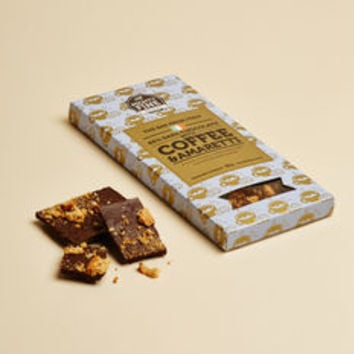 Coffee And Amaretti 65% Dark Chocolate Bar