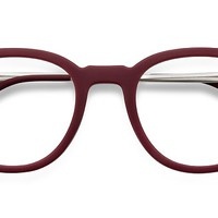 Chance | Matte Scarlet | Women Metal Eyeglasses | EyeBuyDirect
