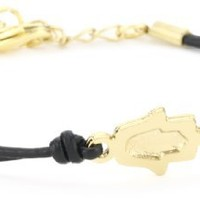Ettika Single Charm Leather Bracelet