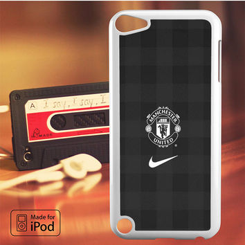 Manchester United Grey iPod Touch 4 5 6 Case Cover