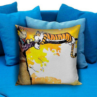 calvin and hobbes pillow design the best