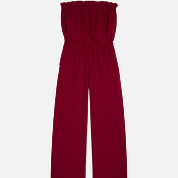 Strapless jumpsuit - New this week - NEW IN | Oysho
