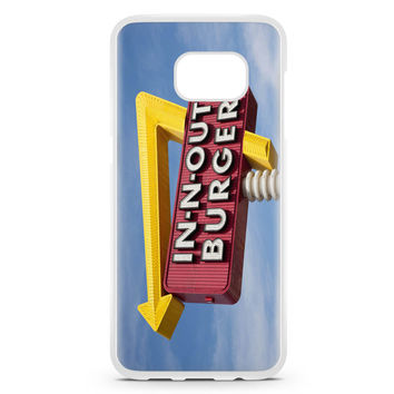 In N Out Burger Funny Samsung Galaxy S7 Edge Case