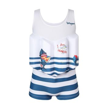 Baby Buoyancy Swimwear Kids Swim Float Suits Learn To Swim Tools Boys Surfing Swimming Life Vest Water Safety Swim Clothes