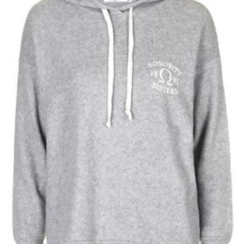 Sorority Sisters Hoodie by Project Social T - Grey