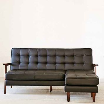 Campbell Vegan Leather Sectional Sofa