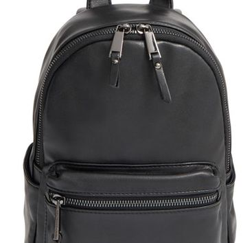 French Connection 'Mini Perry' Faux Leather Backpack | Nordstrom