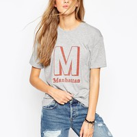 ASOS T-Shirt With Manhattan Print