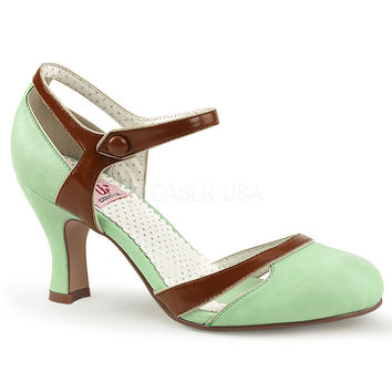 Copy of Pinup Couture Flapper Mint d'Orsay Pump