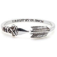Han Cholo The Arrow Bangle in Silver : Karmaloop.com - Global Concrete Culture