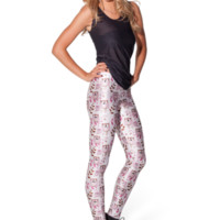 Baby Owl Leggings (WKNDER) | Black Milk Clothing