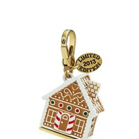 Limited Edition Gingerbread House Charm