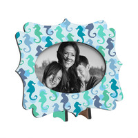 Lisa Argyropoulos Seahorses And Bubbles Tabletop Frame