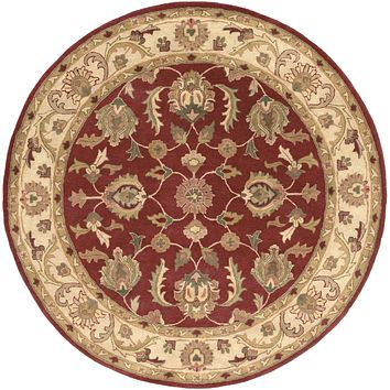 Surya Oxford Classic Red AWDE-2007 Area Rug